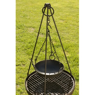 Kadai Bowl and Tripod Set